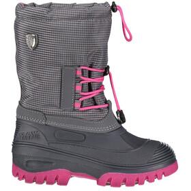 CMP Campagnolo Ahto WP Støvler Børn grå/pink